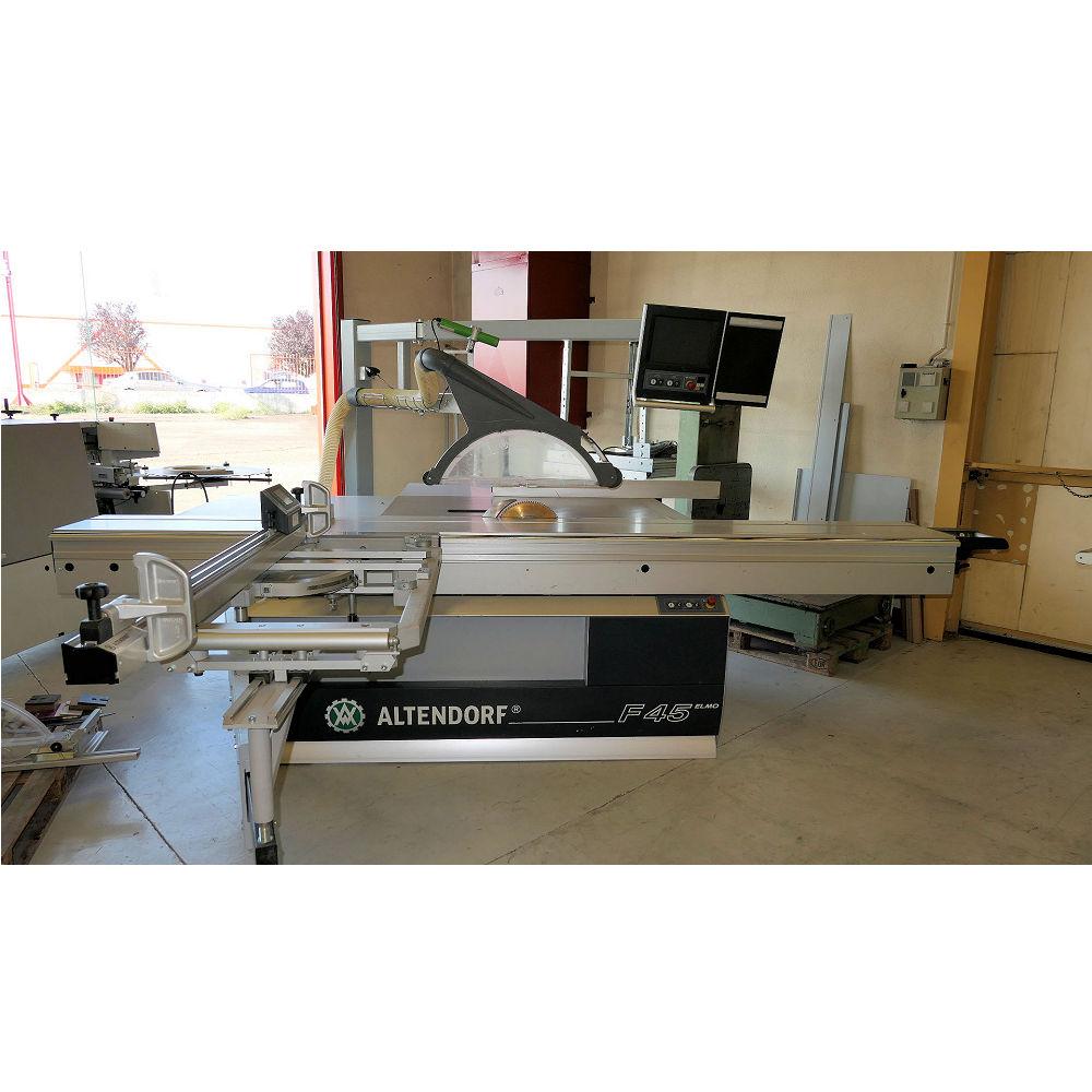 Scie à format - Machines à bois d'occasion Giroudon